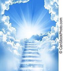scale, cielo