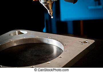 scansione, laser, 3d