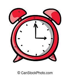 scarabocchiare, orologio