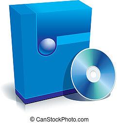 scatola, cd