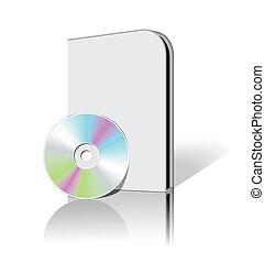 scatola, dvd, cd