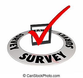 scatola, parola, domanda, illustrazione, marchio, esame, risposta, assegno, 3d