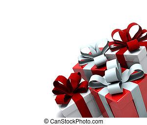 scatole, regalo natale