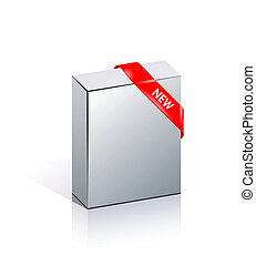 scatole, vuoto, 3d