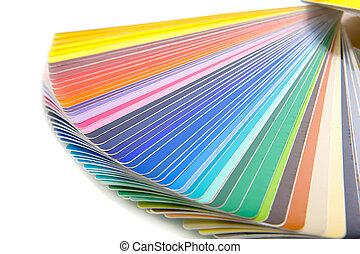 scheda colore