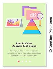 schemi, sito web, processi, meglio, techniques., grafica, analisi, analitico, affari