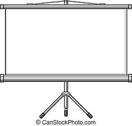 schermo, proiettore
