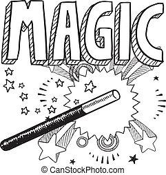schizzo, magia