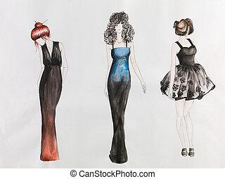 schizzo, moda
