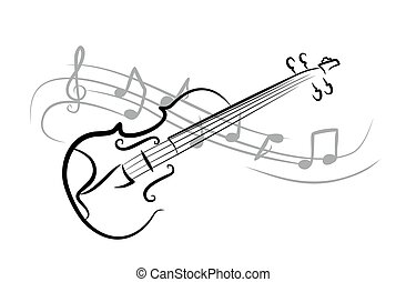 schizzo, violin.