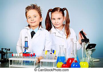 scienza, bambini