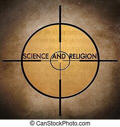 scienza, bersaglio, religione