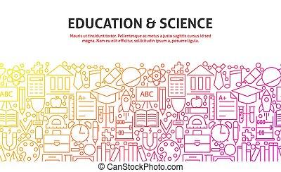 scienza, concetto, educazione, &