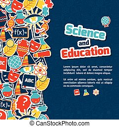 scienza, educazione, fondo