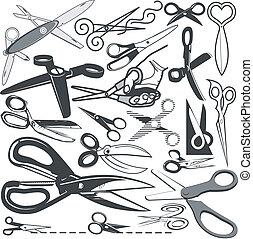 scissor, collezione