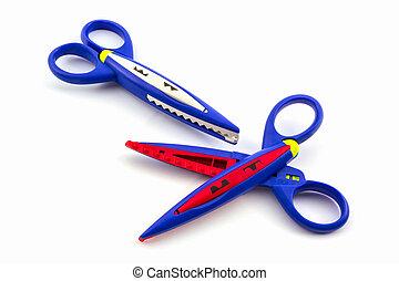 scissors., colorito
