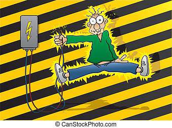 scossa, elettrico