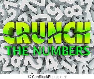 scricchiolio, parole, numero, tasse, numeri, fondo, contabilità