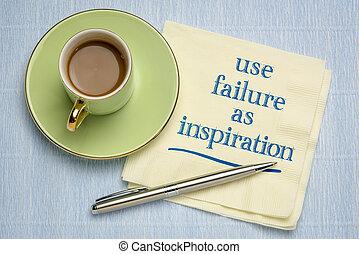 scrittura, uso, ispirazione, fallimento, tovagliolo