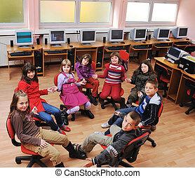 scuola, educazione, esso, bambini