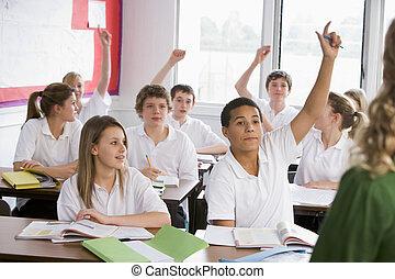 scuola, studenti, domanda rispondente, alto codice categoria