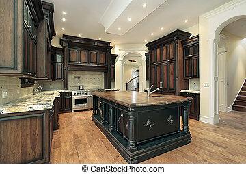 scuro, cabinetry, cucina