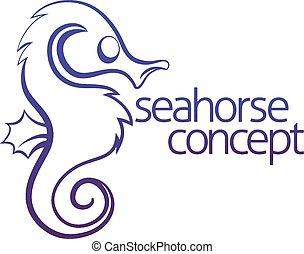 seahorse, concetto