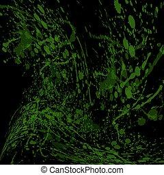 seamless, acquarello, verde