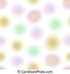 seamless, astratto, modello, fondo, puntino, colorito