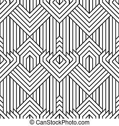 seamless, astratto, semplice, geometrico, vettore, modello