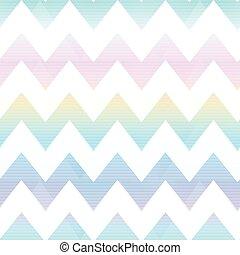 seamless, modello, zigzag, arcobaleno