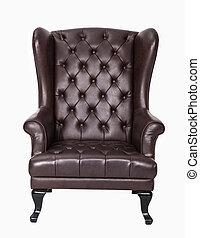 sedia, sfondo bianco