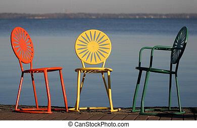 sedie, amante della conversare, uw