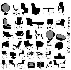 sedie, collezione