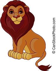 seduta, leone