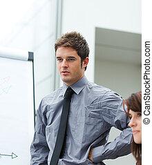 segnalazione, figure vendite, uomo affari