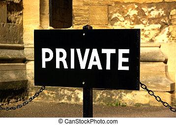 segnale privato
