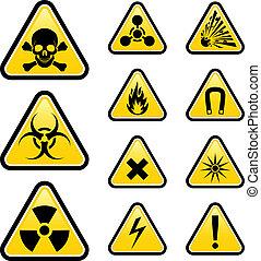 segni, pericolo