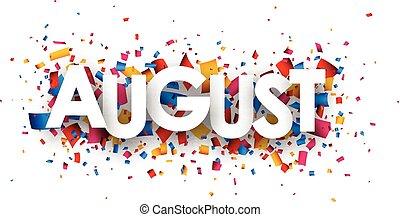 segno., agosto