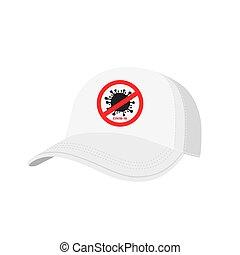 segno, fermata, isolato, coronavirus, berretto