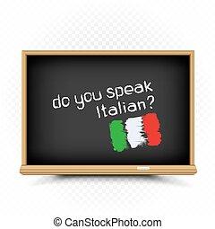segno, lezioni, italiano, scuola, disegnare, lavagna