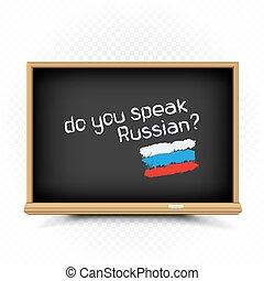 segno, lezioni, scuola, disegnare, russo, lavagna