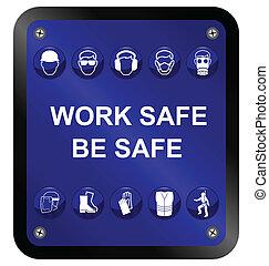 segno, sicurezza, salute