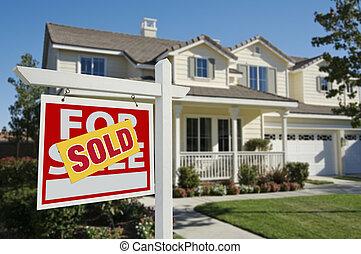 segno venduto, casa nuova