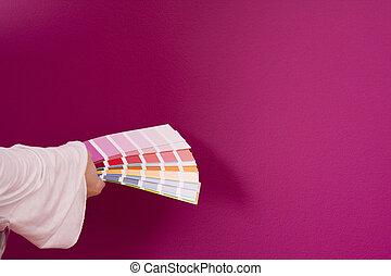 selezionare, colorare