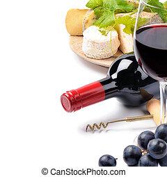 selezione formaggio, rosso, vino francese