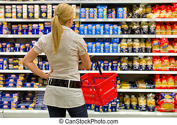 selezione, supermercato