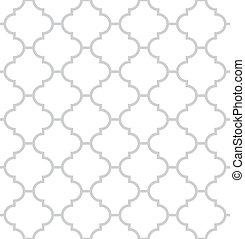 semplice, geometrico, vettore, seamless, struttura