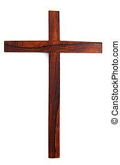 semplice, legno, croce