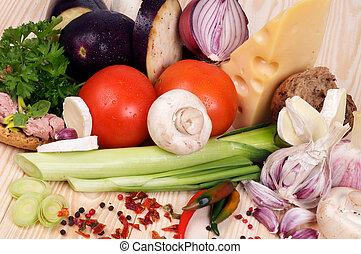 semplice, pasti, ingredienti